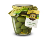Olive verdi grandi in salamoia